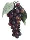 "7"" Artificial Grape Cluster - Burgundy"
