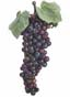 "Artificial Grape Cluster - 9"" Small Burgundy"